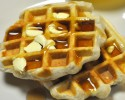 Waffles made from Biscuits