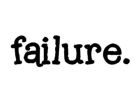 failure - GOODEness Gracious