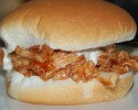Pulled Chicken BBQ & Ranch Sandwich