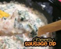 Cheesy Sausage Dip copy