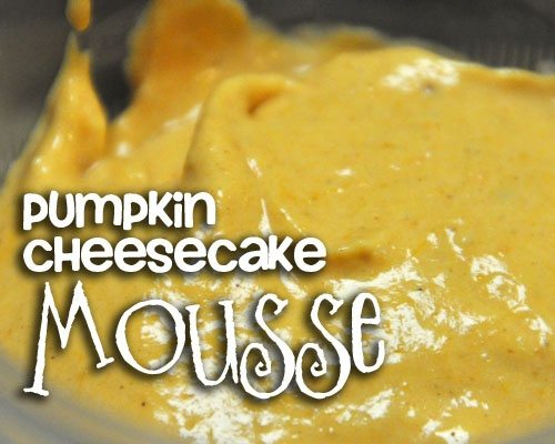 Easy Pumpkin Cheesecake Mousse - GOODEness Gracious