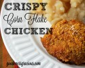 Crispy Corn Flake Chicken